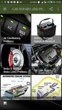 CAR DIAGNOSIS AND REPAIRS APK screenshot 1
