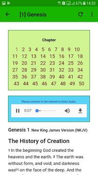 NKJV Audio Bible Free App. APK screenshot 1