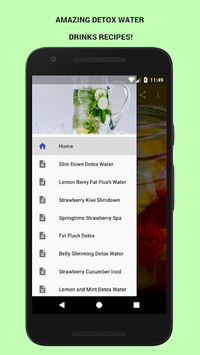 30+ Detox Water Drinks! APK screenshot 1
