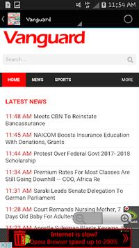 Nigeria Newspapers APK screenshot 1