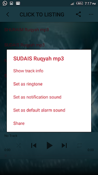 Full Ruqyah Sharia mp3 offline APK screenshot 1