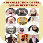 Sheikh Sudais And 10+ Famous Quran Reciters icon