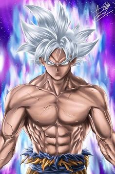Goku Wallpaper Art APK screenshot 1
