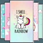 Kawaii Unicorn Wallpaper APK icon