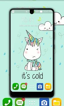 Kawaii Unicorn Wallpaper APK screenshot 1