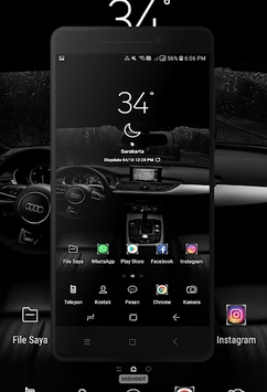 Dark Wallpaper APK screenshot 1