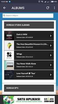 BTS Lyrics (Offline) APK screenshot 1