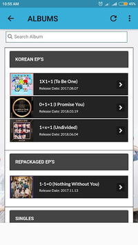Wanna One Lyrics (Offline) APK screenshot 1