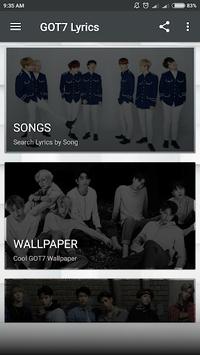 GOT7 Lyrics (Offline) APK screenshot 1