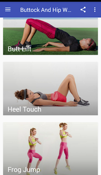 Buttock And Hip Workouts APK screenshot 1