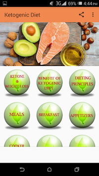 Ketogenic Diet APK screenshot 1