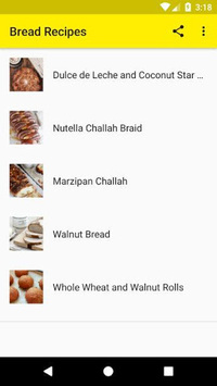 Bread Recipes APK screenshot 1