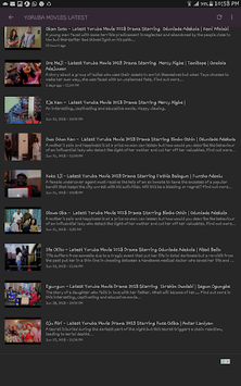YORUBA MOVIES LATEST APK screenshot 1