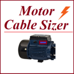 Electrical Cable Size calculator: Motor Calculator icon