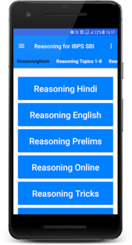 Reasoning APK screenshot 1
