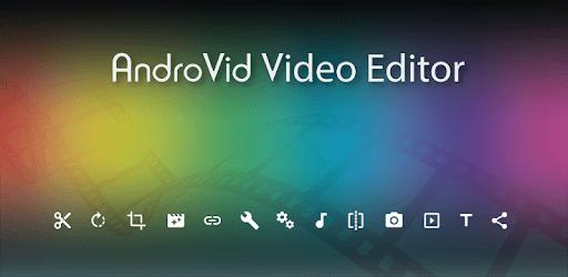AndroVid - Video Editor pc screenshot