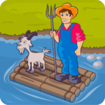 River Crossing IQ Logic Puzzles & Fun Brain Games icon