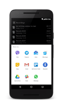 Smart Recorder – High-quality voice recorder APK screenshot 1