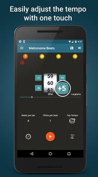 Metronome Beats APK screenshot 1