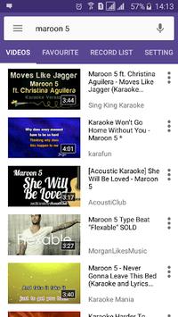 Karaoke Lite : Sing & Record Free APK screenshot 1