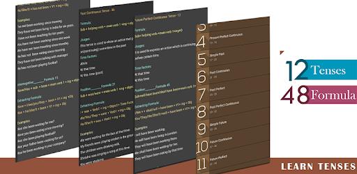 Tenses -12  as 48 Formulas pc screenshot
