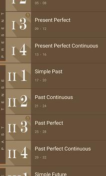Tenses -12  as 48 Formulas APK screenshot 1