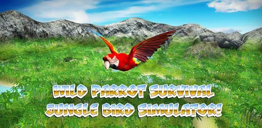 🐦 Wild Parrot Survival - jungle bird simulator! pc screenshot