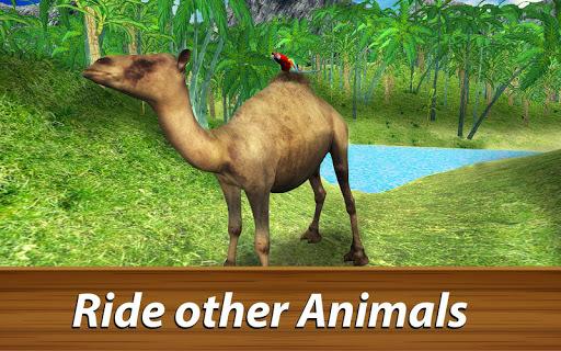 🐦 Wild Parrot Survival - jungle bird simulator! APK screenshot 1