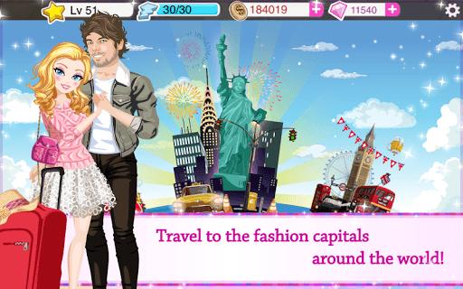 Star Girl - Fashion, Makeup & Dress Up APK screenshot 1