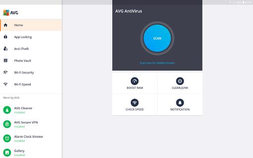 Tablet AntiVirus FREE 2019 - Virus Cleaner APK screenshot 1