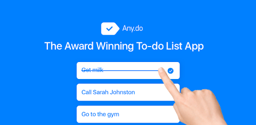 Any.do: To do list, Calendar, Reminders & Planner pc screenshot