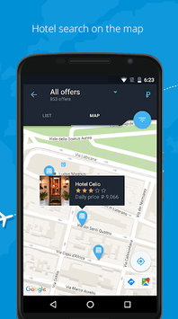 Anywayanyday – flight and hotel booking APK screenshot 1