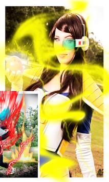 Saiyan Camera - Photo Effect's APK screenshot 1