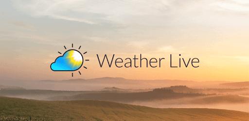 Weather Live pc screenshot