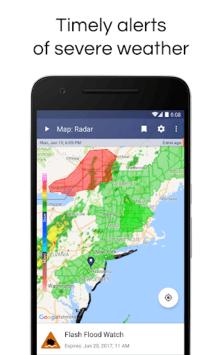 NOAA Weather Radar Live & Alerts APK screenshot 1