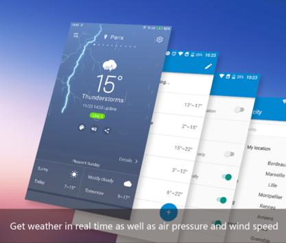 APE Weather ( Live Forecast) APK screenshot 1