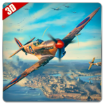 Real Air Combat War: Airfighters Game APK icon