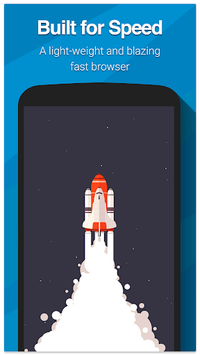 Swipe Browser APK screenshot 1