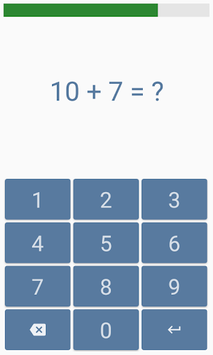 Addition and subtraction APK screenshot 1