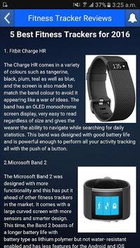 Fitness Tracker Reviews APK screenshot 1