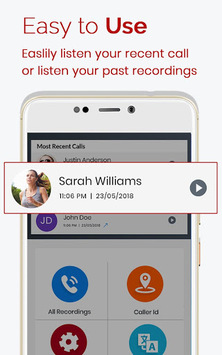 Auto Call Recorder 2019 APK screenshot 1