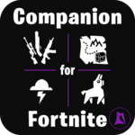Companion for Fortnite (Stats, Map, Shop, Weapons) APK icon