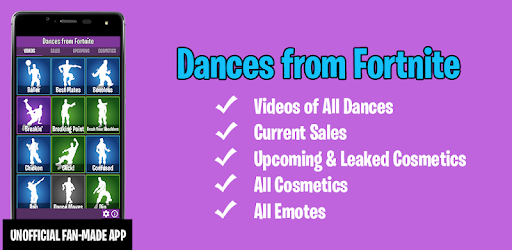 Dances from Fortnite (Emotes, Skins, Daily Shop) pc screenshot