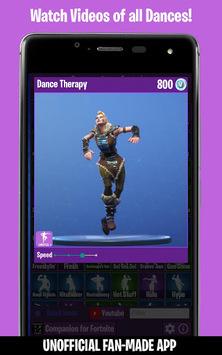 Dances from Fortnite (Emotes, Skins, Daily Shop) APK screenshot 1