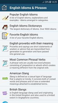 All English Idioms & Phrases APK screenshot 1