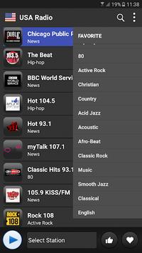 USA radio Fm free 2018 APK screenshot 1