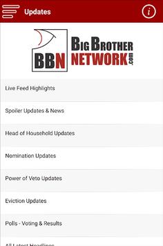 Big Brother Network APK screenshot 1