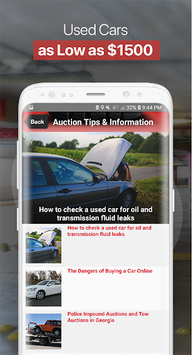 Public Auto Auctions - Used Cars and Trucks APK screenshot 1