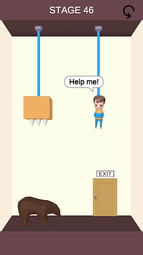 Rescue Cut - Rope Puzzle APK screenshot 1