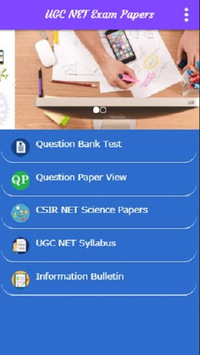 UGC NET Exam Papers Practice & Preparation APK screenshot 1